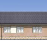 проект дома из пеноблока-газобетона SDn-556 4