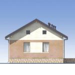 проект дома из пеноблока-газобетона SDn-556 5