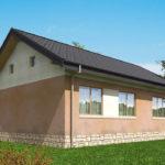 проект дома из пеноблока-газобетона SDn-556 8