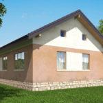 проект дома из пеноблока-газобетона SDn-556 9