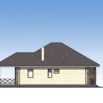 проект дома из пеноблока-газобетона SDn-566 3