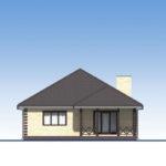 проект дома из пеноблока-газобетона SDn-566 4