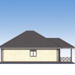 проект дома из пеноблока-газобетона SDn-566 5