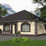 проект дома из пеноблока-газобетона SDn-566 7