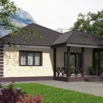 проект дома из пеноблока-газобетона SDn-566 8