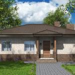 проект дома из пеноблока-газобетона SDn-584 6