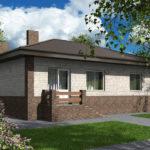 проект дома из пеноблока-газобетона SDn-584 8