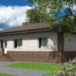 проект дома из пеноблока-газобетона SDn-584 9