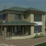 проект дома из пеноблока-газобетона SDn-932 5