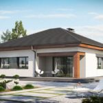 проект дома из СИП-панелей SDn-113 4
