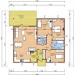 проект дома из СИП-панелей SDn-113 5