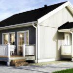 проект дома из СИП-панелей SDn-143 1