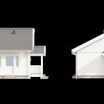 проект дома из СИП-панелей SDn-143 2