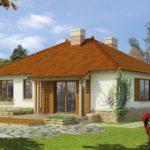 проект дома из СИП-панелей SDn-194 2