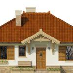 проект дома из СИП-панелей SDn-194 4