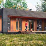 проект дома из СИП-панелей SDn-298 1