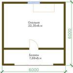 проект дома из СИП-панелей SDn-303 4
