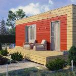 проект дома из СИП-панелей SDn-309 2