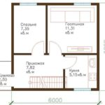 проект дома из СИП-панелей SDn-315 1