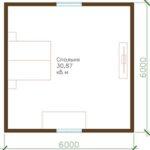 проект дома из СИП-панелей SDn-315 2