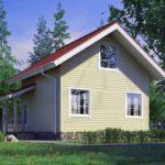 проект дома из СИП-панелей SDn-315 3