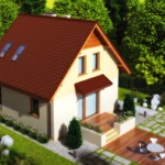 проект дома из СИП-панелей SDn-325 2