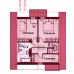 проект дома из СИП-панелей SDn-325 5