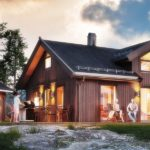 проект дома из СИП-панелей SDn-328 1
