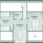 проект дома из СИП-панелей SDn-328 4
