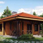 проект дома из СИП-панелей SDn-443 1