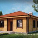 проект дома из СИП-панелей SDn-443 2