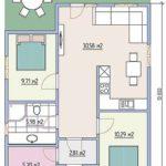 проект дома из СИП-панелей SDn-443 7