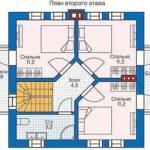 проект дома из СИП-панелей SDn-813 2
