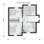 проект дома из теплоблока SDn-502 2