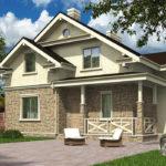 проект дома из теплоблока SDn-502 3