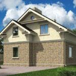проект дома из теплоблока SDn-502 6
