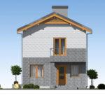 проект дома из теплоблока SDn-511 3
