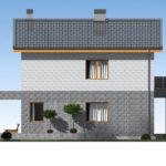 проект дома из теплоблока SDn-511 4