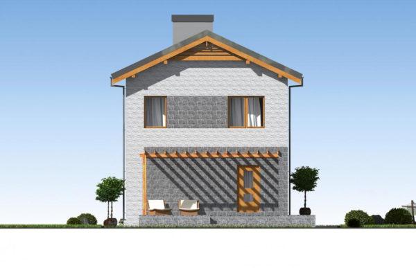проект дома из теплоблока SDn 511 5