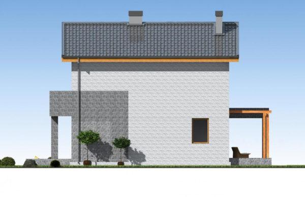проект дома из теплоблока SDn 511 6