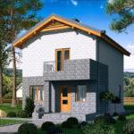 проект дома из теплоблока SDn-511 7