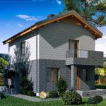 проект дома из теплоблока SDn-511 8
