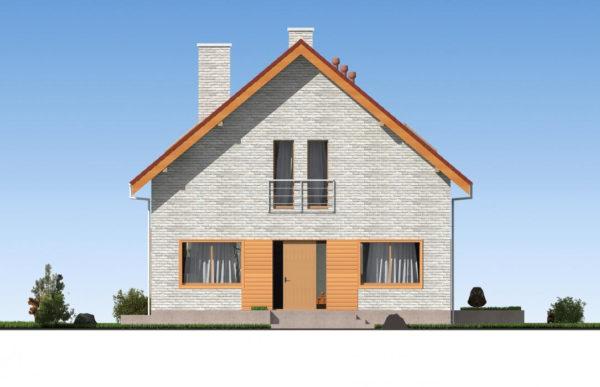 проект дома из теплоблока SDn 512 2