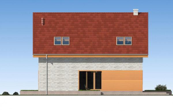 проект дома из теплоблока SDn 512 3