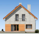 проект дома из теплоблока SDn-512 4