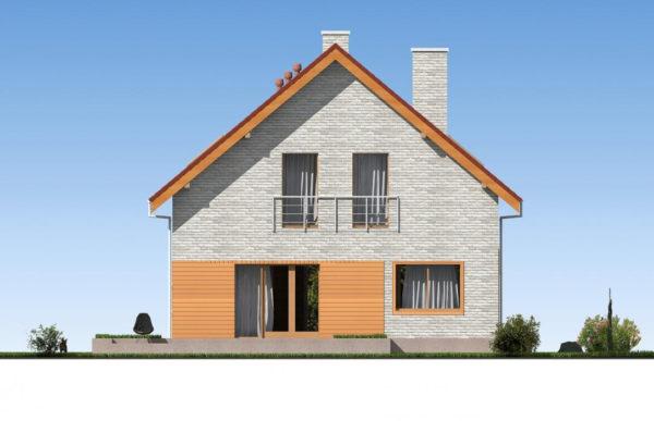проект дома из теплоблока SDn 512 4