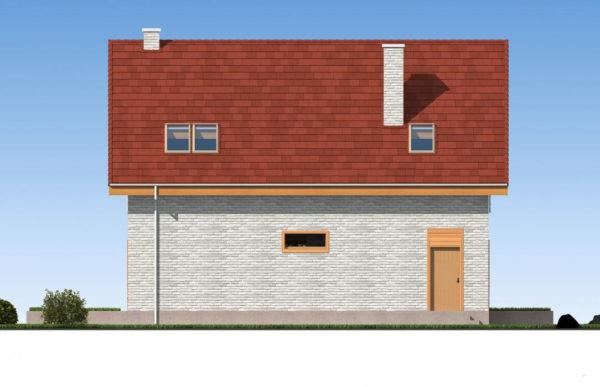 проект дома из теплоблока SDn 512 5