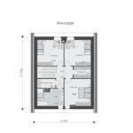проект дома из теплоблока SDn-512 6