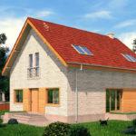 проект дома из теплоблока SDn-512 8