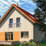 проект дома из теплоблока SDn-512 9